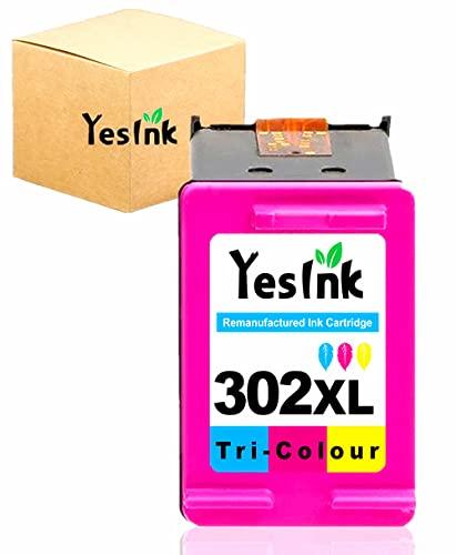 302 XL Reemplazo para Cartucho tinta HP 302 302 XL HP 302 Color Cartuchos HP 302 Compatible para HP DeskJet 2130 3630 Envy 4520 Officejet 3830 (1 color)
