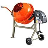 2-1/5cuft Concrete Mixer Cement Machine Electric Barrow Portable...