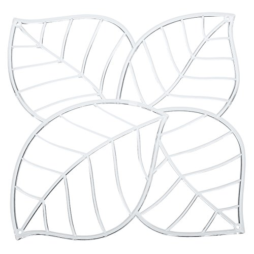 koziol Raumteiler Leaf, Kunststoff, transparent klar, 0,4 x 26,9 x 27,1 cm