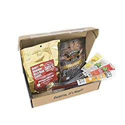 Crates Exotic Meats Jerkygram for father's day gift ideas 2020