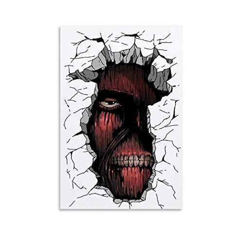 chenyun Poster d'animation L'attaque des Titans Colossal