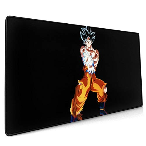 Extended Mouse Pad - Goku Dragon-Ball Super XXL Gaming Computer Mousepad 35.43 X 15.75 X 0.12inch