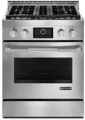 Jenn-Air JGRP430WP 30' Pro-Style Gas Range with Dual-Fan Multimode...