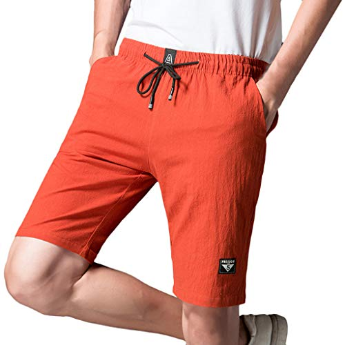 JERFER Nuevo Bermudas Cargo Shorts,Hombres Pantalones Cortos Leisure Casual Descuento