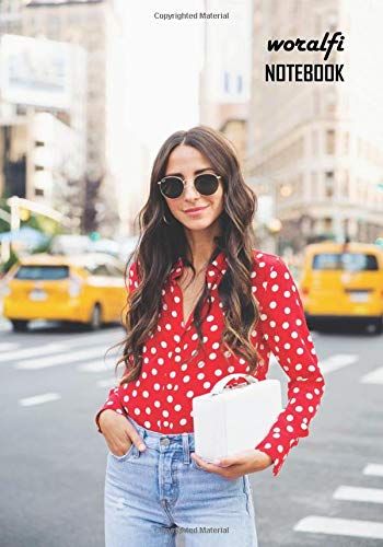 Notebook: Arielle Charnas Medium College Ruled Notebook 130 pages Lined 7 x 10 in (17.78 x 25.4 cm)