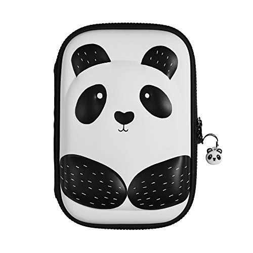 Vierde muur Merken Panda 3D Hardtop Gevuld Potlood Case