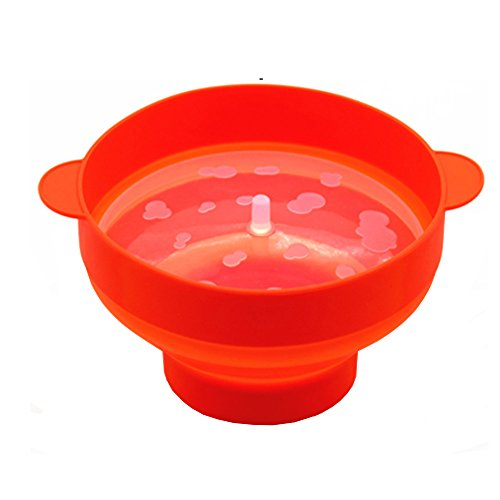 Fantastic Prices! Mydio Silicone Popcorn Popper with Lid,Popcorn Maker, for Healthy Homemade Butter ...