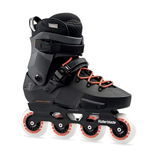 Roller Blade Twister Edge Pattini Nero, Adulti Unisex, Black/Warm Red, 230