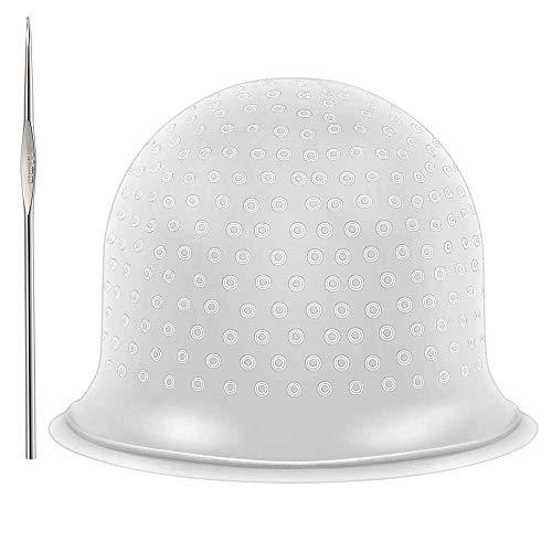 Gorro de Silicona Resaltado,Gorro de tinte sombrero Gorro