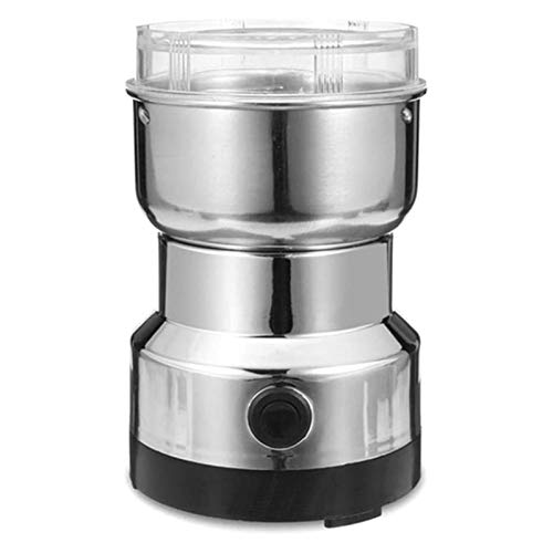 ZOUSHUAIDEDIAN Multifunction Smash Machine Electric Coffee Bean Grinder Household Grinders,for Coffee Beans, Spice, Nut, Seeds, Grains,The Best Gift for Coffee Lovers
