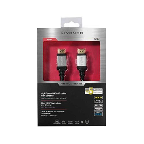 Vivanco 42203 Cable HDMI 5 m HDMI Type A (Standard) Negro -...