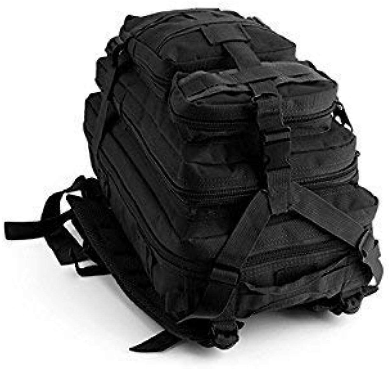 Wanderrucksack Outdoor und und und Indoor Militärischer Taktischer Rucksack Sport Outdoor Klettern Tasche Wanderrucksack (Schwarz) B07L95YF3M  Internationale Wahl b03d50