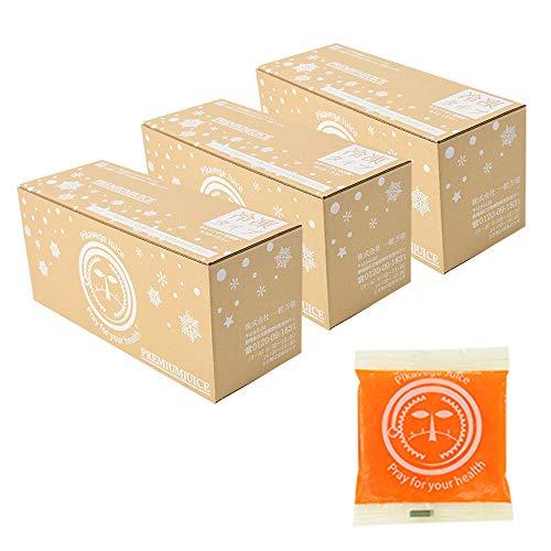 にんじんレモン冷凍ジュース 3箱  100cc×90パック 冷凍ジュース