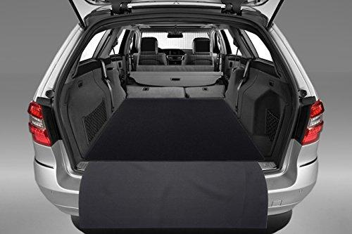 2-teilige Kofferraummatte mit Ladeschutz für Mercedes E-Klasse T-Modell W212