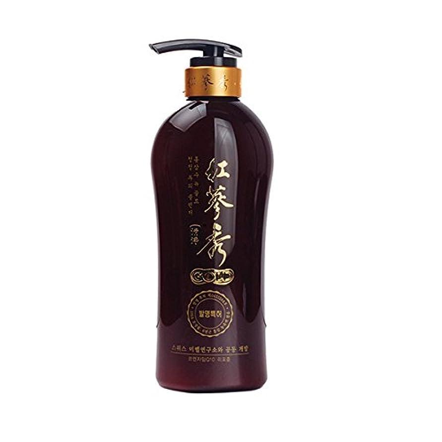 コーン名前でのぞき穴韓国 ハーブ 6 年物 紅参 エキス シャンプー  730ml ( Korea Herbal 6years-old Red Ginseng Extract Shampoo 730ml ) [並行輸入品]