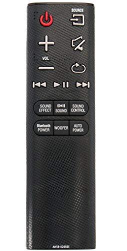 ALLIMITY AH59-02692E Reemplace el Control Remoto por Samsung HW-J355 HW-J450 HW-J550 HW-J551 HW-J6000 HW-JM35 HW-JM45...