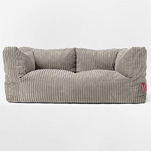 Lounge Pug - Puf Grande Sofá 2 plazas - Pana Clásica...