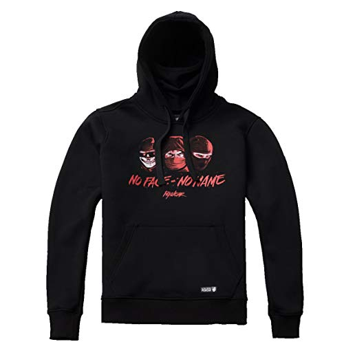 Tex-Ha PG Wear No Face No Name schwarz Hoodie Kapuzenpullover (3XL)