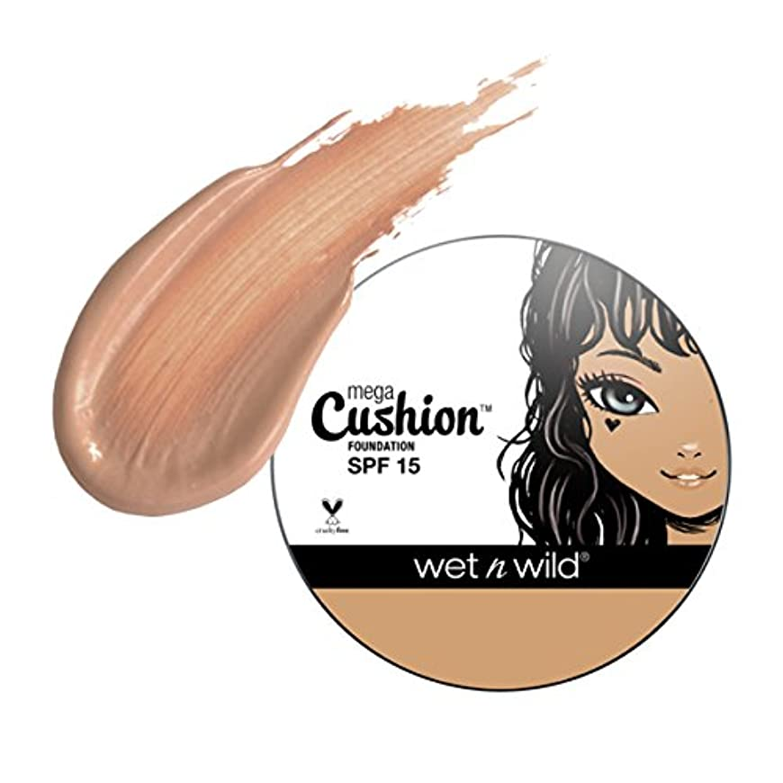 提供する不平を言う不正(3 Pack) WET N WILD MegaCushion Foundation SPF 15 - Natural Beige (並行輸入品)