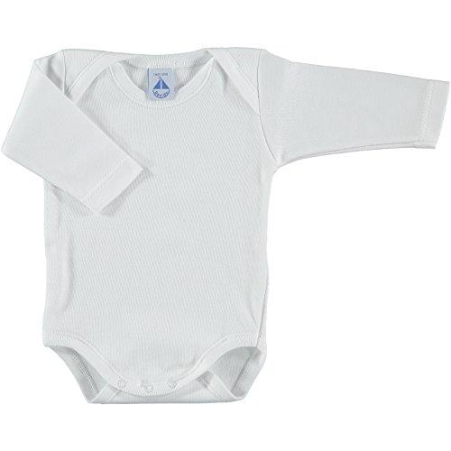 Body para Bebé-Niños BABIDU BODY CUELLO BATISTA Blanco