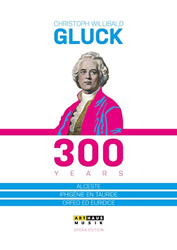 Christoph Willibald Gluck - 300 Years [3 DVDs]