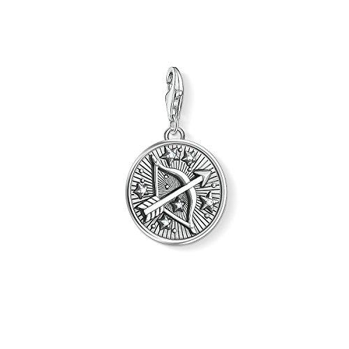 Thomas Sabo Damen Herren-Charm-Anhänger Sternzeichen Schütze Charm Club 925 Sterling Silber 1648-643-21