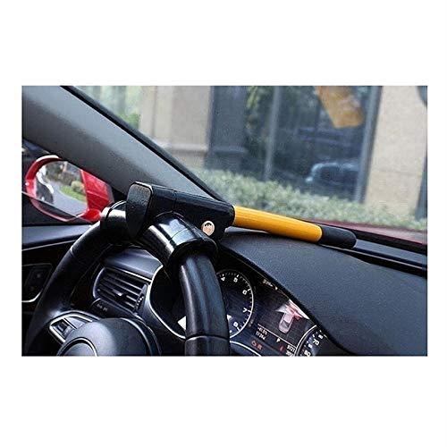 HWHCZ Wegfahrsperren Autolenkradschloss für Autos, kompatibel mit Lenkschloss Mercedes-Maybach-Klasse S, T-BAR-Lenkrad-Wegfahrsperre Anti Diebstahl einziehbar (Color : Yellow)