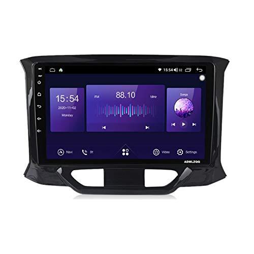 ADMLZQQ 9 Pulgadas Android 10.0 Estéreo Radio Navegacion GPS para Lada X-Ray 2015-2019, FM/Bluetooth/Controles del Volante/Mirror Link/Cámara De Visión Trasera / 4G+WiFi,7862 (8core 4+64g)