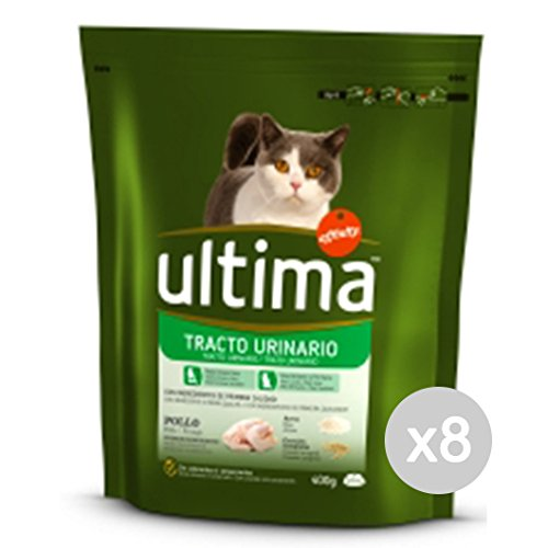 Set 8letzte Katze 207Croccantini Urinary Tract 400g-Katzenfutter