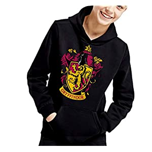 Sudadera de NIÑOS Harry Potter Hogwarts Slytherin Gryffindor 017 19