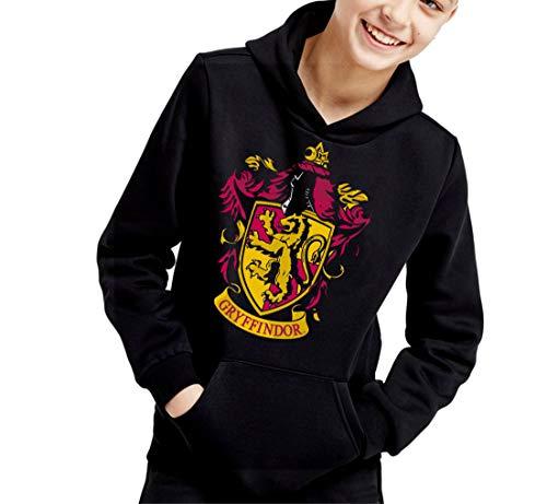 Sudadera de NIÑOS Harry Potter Hogwarts Slytherin Gryffindor 017 9-11 años