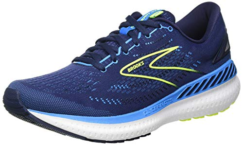 Brooks Herren Glycerin GTS 19 Laufschuh, Navy Blue Nightlife, 44.5 EU