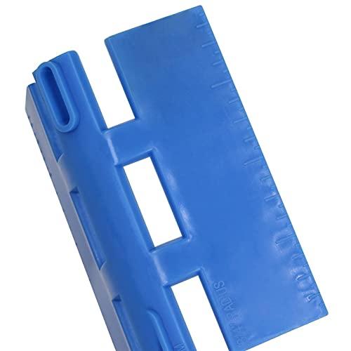 ZHOUCHENPQ Outils Murale de jauge de Forme irrégulière Mesurer la règle duplicateur de jauge de Contour en Plastique pour Accessoires de Mesure Rapidement