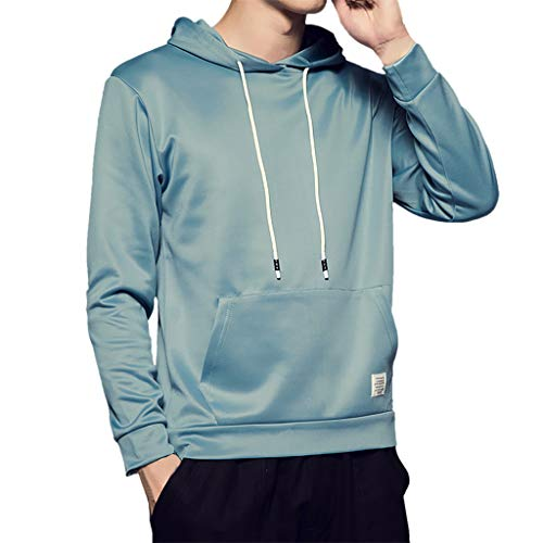 HHyyq Bequeme Kleidung Bluse mit Kapuze Lässige Pullover Herren 8 Farbe Klassisch Sweatershirt Tops Slim Fit Outwear Blouse Mantel Winter Mantel Jacke Coat Reifen T-Shirt Mode Sweater