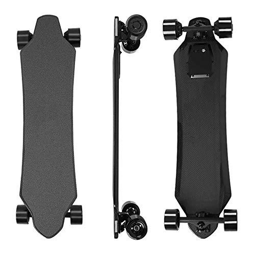 SCOOTER Longboard Elektro-Skateboard, Elektronische Longboard One-Piece 36V Fernbedienung elektrisches Skateboard, Höchstgeschwindigkeit erreichen kann 40 km/h, die Sich perfekt for Jugendliche