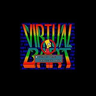 Virtual Bart 16 Bit Big Gray Game Card For Ntsc Game Player