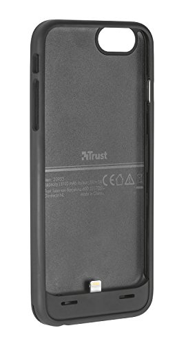Trust Urban Batta Powerbank Hülle (inkl. Batterie, geeignet für Apple iPhone 6S Plus/6 Plus) schwarz