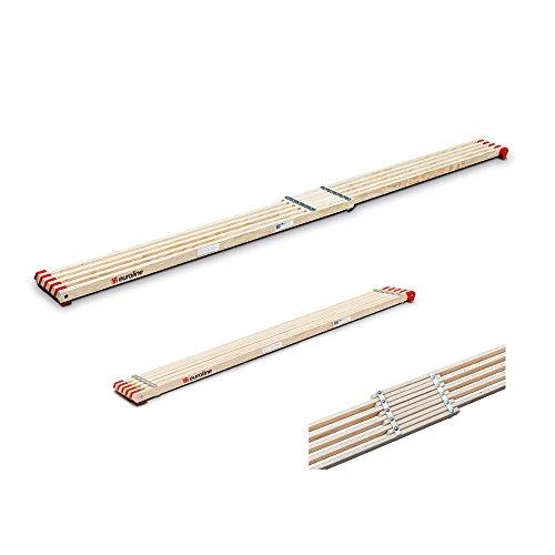 Holzbohle, ausziehbar 2,10-3,60m