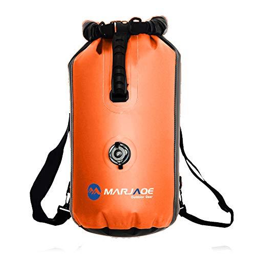 WildGrow Saco seco impermeable, bolsos de equipaje seco flotantes para el canotaje, el senderismo, el kayak, el piragüismo, la pesca, la deriva, la natación, el campamento, el esquí y snowboarding