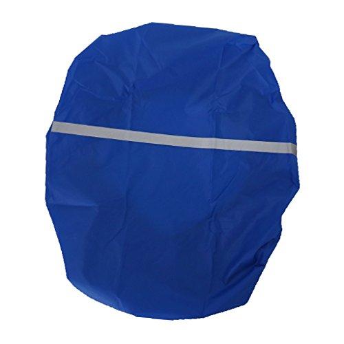 HomeDecTime Cubierta Impermeable para La Lluvia Viaje Al Aire Libre Senderismo Camping Mochila Mochila Bolsa - Azul