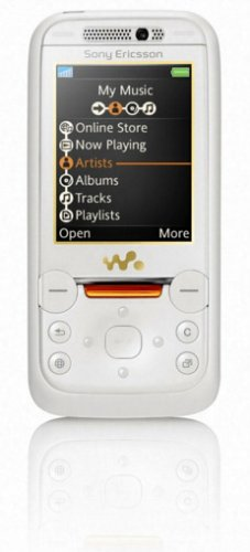 Sony Ericsson Walkman W850i Golden White - Teléfono móvil