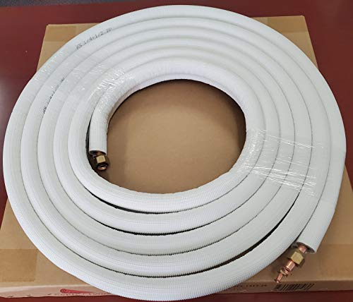 """25 Ft 3/8"""" x 5/8"""" Line Set for Ductless Mini"""