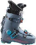 DYNAFIT Damen HOJI PRO Tour W Ski-Stiefel, Asphalt/Hibiscus, 41 1/3 EU