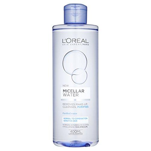 Agua micelar L 'Oreal Paris para piel sensible, normal y mixta 400ml