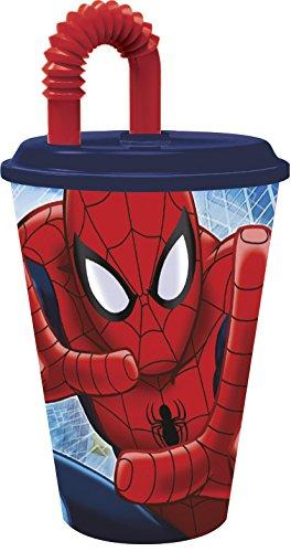 Boyztoys Bicchiere Sportivo, Motivo Spiderman