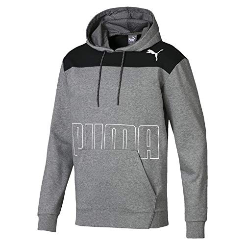 PUMA Modern Sports Herren Hoodie Medium Gray Heather L