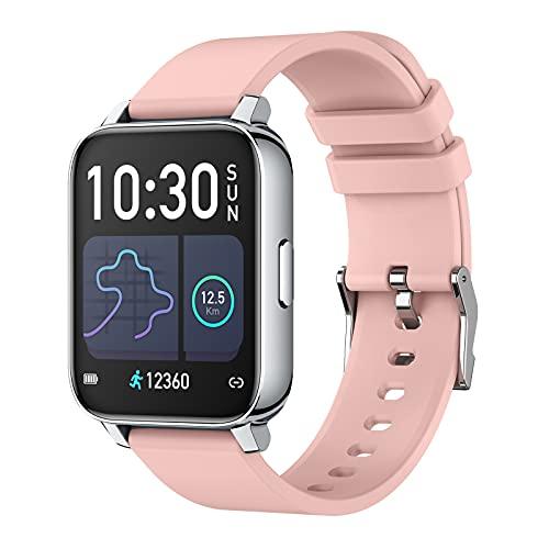 スマートウォッチ smart watch 1.7インチ大画面 活動量計 多機能 スマートブレスレット スポーツウォッチ IP67完全防水 長い待機時間 ストップウォッチ 万歩計 歩数計 腕時計 目覚まし時計 着信通知 iPhone Android 日本語対