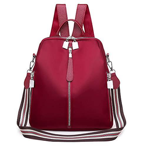 Mochila anti furto oxford urbanity lady impermeável Vermelho femininas em moda
