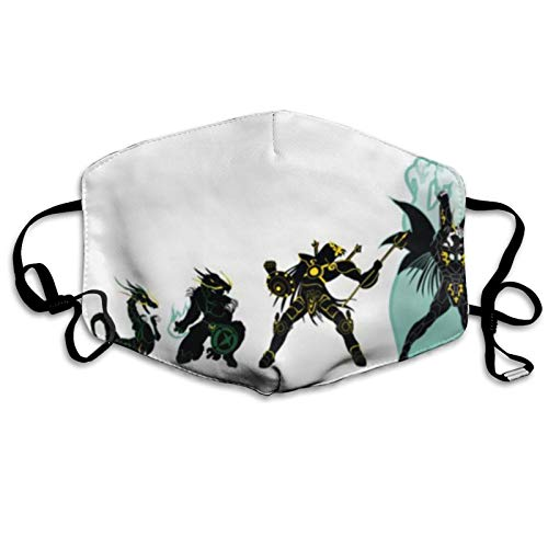ghjkuyt412 Mouth Cover Face Cover Shiryu Dragon Evolution Saint Seiya Knights of The Zodiac Washable Mouth Cover Reusable Mouth Scarf Face Scarf for Kids Adults
