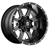 Fuel Offroad D538 MAVERICK BLACK Wheel with Painted and tpms (18 x 9. inches /5 x 139 mm, 1 mm Offset)